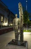雕塑du musee大道 库存照片