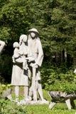 雕塑Henryk Burzec在扎科帕内 库存照片