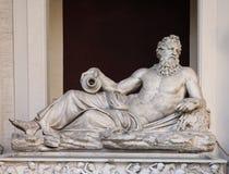雕塑Neptun 免版税库存图片