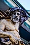 雕塑Neptun 图库摄影