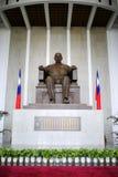 雕塑sun yat参议员 免版税库存图片