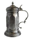 雕琢平面的奖杯大啤酒杯 免版税图库摄影