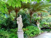 雕象在公园 图库摄影