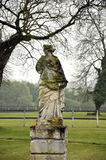 雕象在公园 免版税库存照片