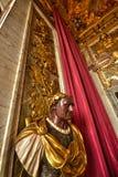 雕象在凡尔赛 库存照片