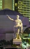 雕象在凯撒宫旅馆 库存照片