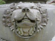 雕象在古老中国 库存图片
