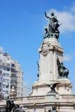 雕象在国会广场 库存图片