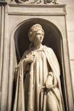 雕象在圣安德烈亚斯惊人的教会里在罗马意大利 免版税库存照片