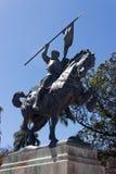 雕象在巴波亚公园 库存图片