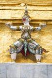 雕象在王宫,曼谷 免版税库存照片