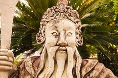 雕象在盛大宫殿 免版税图库摄影