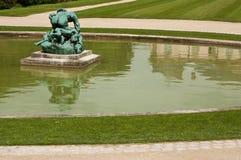 雕象在罗丹博物馆在巴黎 图库摄影