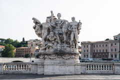 雕象在罗马 库存图片