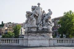 雕象在罗马 库存照片
