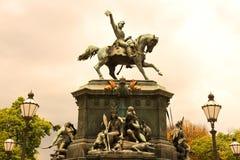 雕象在里约热内卢 免版税图库摄影