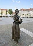 雕象在阿尔巴尤利亚 免版税库存照片