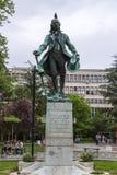 雕象在贝尔格莱德 库存照片