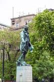 雕象在贝尔格莱德 免版税库存照片