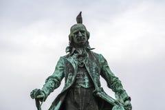 雕象在贝尔格莱德 免版税图库摄影