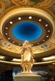 雕象在贝拉焦旅馆里在拉斯维加斯 库存照片