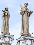 雕象在Basilica del Santo Nino 宿务,菲律宾 库存图片