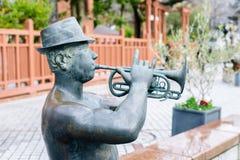 雕象在Kitano区,日本 免版税库存图片