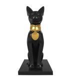 雕象埃及猫 库存照片