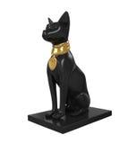 雕象埃及猫 库存图片