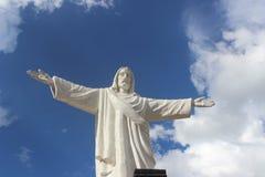雕象基督2 免版税库存图片