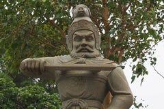 雕象战士 图库摄影