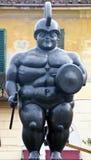 雕象战士 库存图片