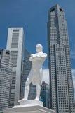 雕象新加坡 免版税库存图片