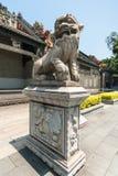 雕象法庭上广东民间艺术博物馆 库存照片
