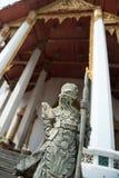 雕象泰国战士 图库摄影