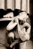 雕象石头 免版税库存照片