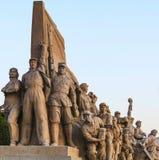 雕象纪念碑 免版税库存照片