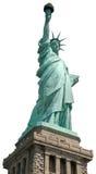 雕象自由纽约隔绝了 免版税库存照片