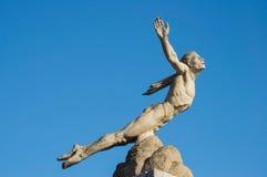 雕象艾卡罗计 免版税库存照片