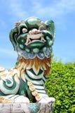 雕象轰隆Pa在宫殿 库存照片