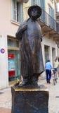 雕象,维罗纳,意大利 免版税库存照片