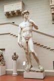 雕象细节-大卫米开朗基罗 免版税图库摄影