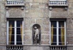 雕象/雕塑的看法 免版税库存照片
