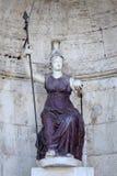 雕象Dea罗马在罗马,意大利 库存图片