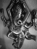 雕象Ganisha阁下 库存图片