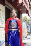 雕象zhengchenggong (koxinga)在amoy城市 免版税图库摄影