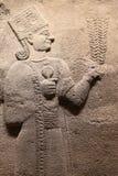 雕刻在阿纳托利安文明博物馆,安卡拉 库存照片