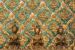 雕刻泰国 库存照片