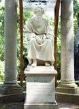 雕刻的小组在梵蒂冈庭院里2010年9月20日的在梵蒂冈,罗马,意大利 库存图片