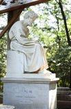 雕刻的小组在梵蒂冈庭院里2010年9月20日的在梵蒂冈,罗马,意大利 免版税库存图片